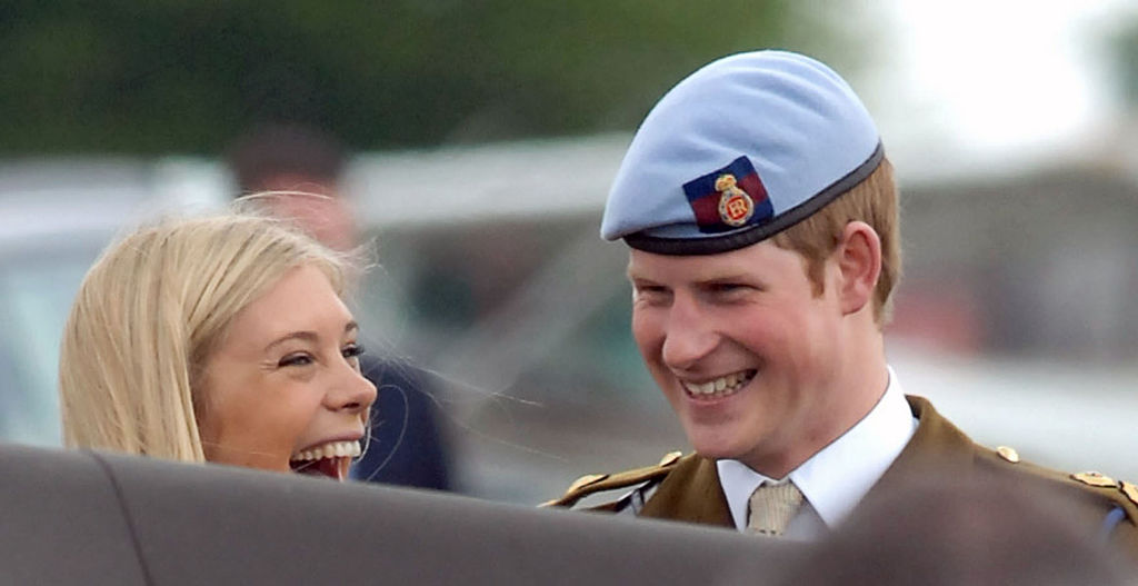 TBT: Prince Harry and Chelsy Davy   InStyle.com